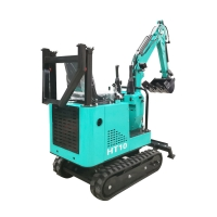 Wholesale 110V/220V/380V crawler small digger mini towable backhoe hydraulic excavator from china suppliers
