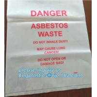 Wholesale BIOHAZARD AUTOCLAVABLE,ASBESTOS, MEDICAL WASTE DISPOSAL SACKS, PATIENT BELONGING,SPECIMEN SAMPLING BAGS from china suppliers