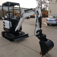 Buy cheap 3 cylinder engine digger fullmetal hydraulic crawler small mining excavator HT20 from wholesalers