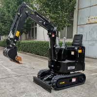 Wholesale 1ton hydraulic mini excavator cheap small excavator with EPA engine for USA market from china suppliers