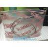 Buy cheap Waterproof Makeup OEM Cosmetic Bag Pvc/Eva Clear Frosted Plastic Pvc Zip Lock from wholesalers