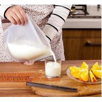 Buy cheap LIQUID CHEMICAL PACK POUCH BAG, SOUP,MILK,WINE,BAG IN BOX JUICE VALVE BAG from wholesalers