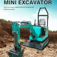 Buy cheap 110V/220V/380V crawler small digger mini towable backhoe hydraulic excavator from wholesalers