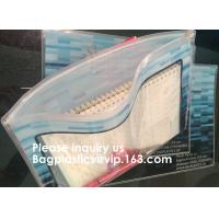 Wholesale SLIDER LOCK BAG, PP SLIDER ZIPPER BAGS, WATER PROOF BAGS, GRID SLIDE SEAL BAGS, REUSABLE BAGS, SWIMW from china suppliers