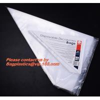 Wholesale PIPING PASTRY BAGS, ICE BAG PACK, WICKETED BAGS, MICROPERFORATED FOOD BAGS, STAPLED APRON from china suppliers