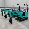 Buy cheap Diesel engines Mini excavator garden Mini Backhoe Excavator from wholesalers