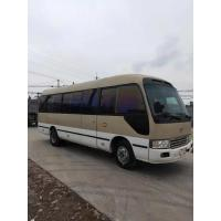 Buy cheap japan brand toyota coaster 30 seats diesel fuel second hand medium-sized bus 4x2 from wholesalers