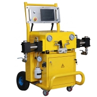 Wholesale Hydraulic polyurea and polyurethane spray foaming Injection machine For CNMC-500 from china suppliers