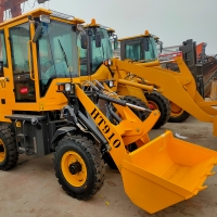 Wholesale Mini Mechanical Wheel Loader tractor front loader from china suppliers