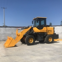 Buy cheap Hydraulic backhoe loader Small Wheel Loader HT930 from wholesalers