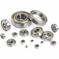 Wholesale 16003ZZ Deep Groove Ball Bearing 17*35*8mm Bearing Steel Material Two-sided Metal Cover from china suppliers