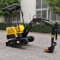 Buy cheap Chinese mini small digger micro hydraulic new excavator XN08 from wholesalers