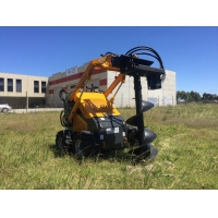 Wholesale Chinese mini skid steer loader HT380 with attachment for sale from china suppliers
