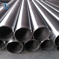 Wholesale Stainless Steel Water Well Screen , Johnson Well Screen High Temperature Resistant from china suppliers