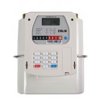 Buy cheap STS Gas Prepayment Meter Diaphragm Type Smart Gas Meter , Gray from wholesalers