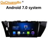 Wholesale Ouchuangbo car radio multi media for Toyota Corolla 2014-2015 with USB SWC 1080P Video gps navi android 7.0 from china suppliers