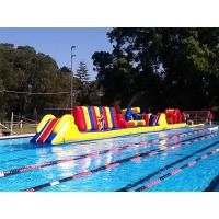 Wholesale Customized 26 M Inflatable Obstacle Course Races Waterproof PVC Material from china suppliers