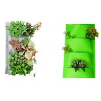 Wholesale Hanging Garden Plant Accessories Planting Bags / Flower Pots Planter Outdoor Indoor 27x54cm Brown, dark grey or as reque from china suppliers