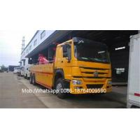 Wholesale Howo 6x4 5825 Wheelbase 40 Ton Heavy Duty Wrecker Radio Control Tow Truck ZZ1257M5847D1 from china suppliers