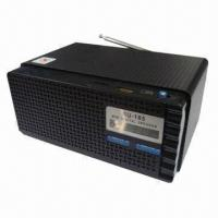 Buy cheap FM Radio Wooden Card Portable Speaker with Built-in Active Amplifier from wholesalers