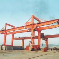 Wholesale Adjustable Double Girder Gantry Crane / Ship Container Crane Box Type from china suppliers