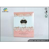 Quality Luxury Pink Cosmetic Packaging Boxes For Mask Product / Cosmetic for sale