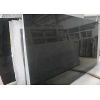 China Hard Shanxi Black Granite Slab , Natural Granite Slabs For Shower Walls for sale