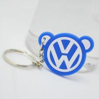 China custom yourself logo design silione good quality  best rubber keychain for sale