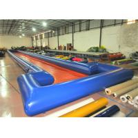 Long inflatable runway water slide big inflatable water slide on sale for sale