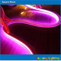 Buy cheap Amazing bright 16*16m 24V flat pink neon light made in China from wholesalers