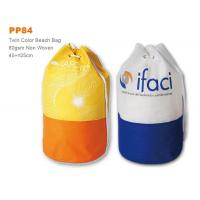 Wholesale Non Woven Promotional Drawstring Bags , Summer Outdoor Ladies Beach Bag from china suppliers