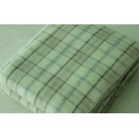 Wholesale 100% Australian Wool Throw Blanket Modern Check Design from china suppliers