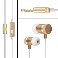 Wholesale Premium In Ear Stereo Headphones Earbuds Tangle Free With Mic from china suppliers