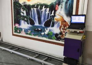 Wholesale Dx-10 Epson Nozzles 10sqm/h Wall Mural Printing Machine 120W from china suppliers