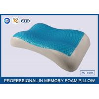 Wholesale Therapeutic Memory Foam Cooling Gel Pillow with Soft Cover , Cooling Gel Bed Pillow from china suppliers