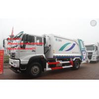 Wholesale 400 L Fuel Tank Garbage Compactor Truck With 4 - Stroke Direct Injection Diesel Engine from china suppliers