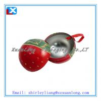 Wholesale ball-shaped chocolate tin box from china suppliers