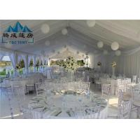 Wholesale Stretch Heavy Duty Canopy Tent PVC Cover With Sandwich Wall And Cassette Wooden Floor from china suppliers