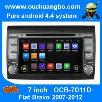 Wholesale Ouchuangbo Car GPS Stereo DVD Radio 3G Wifi Bluetooth for Fiat Bravo 2007-2012 Android 4.4 from china suppliers