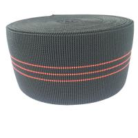 Wholesale 3 Inch Elastic Upholstery Webbing Furniture Accessories Black Color from china suppliers