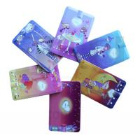 China Custom Colour Printing ABS Credit Card Mini Clip MP3 Player Compatible PC for Windows98 on sale