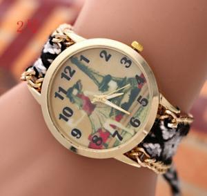Buy cheap HOt Sale! New Brand GENEVA Watch Handmade Braided Friendship Bracelet Watch from wholesalers