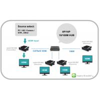 Buy cheap HDMI Video Multiple Mixing Signals and Audio Extender and Chain able VGA output from wholesalers