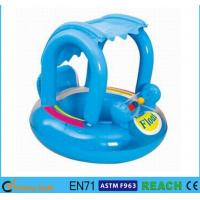 Wholesale UPF 50+ Inflatable Pool Floats Reinforced Safety Baby Float With Canopy from china suppliers