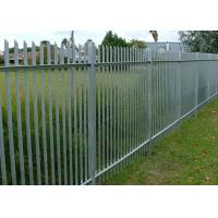 Wholesale W Type Palisade Security Fence / Decorative Metal Palisade Fence Panels from china suppliers