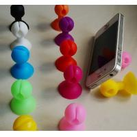 Promotional gifts new arrival mobile phone silicone holder stand sucker wrap bobbin winder for sale