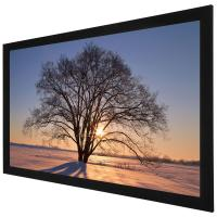 Buy cheap Custom 100 Inch 4K Ultra HD  Fixed Frame Screen / Home Theatre Projection Screen from wholesalers