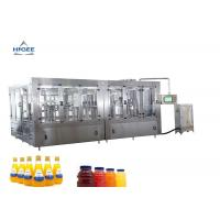 Buy cheap Juice Water Beverage Soft Drink Packaging Machine , PET Liquid Bottle Filling from wholesalers