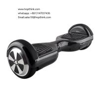 Wholesale two wheels self balancing smart electric scooter hover board for kid or adult with light from china suppliers