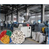 Recycled PVC Pelletizing Machine / PVC Hot Cut Pelletizing Line for sale